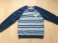 NEU Tom Tailor 128/134 Pullover gestreift blau grün