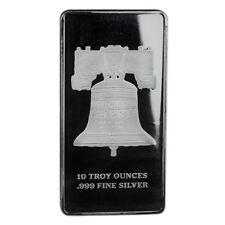 Republic Metals 10 oz Silver Bar   SD Bullion Exclusive Proclaim Liberty Bar