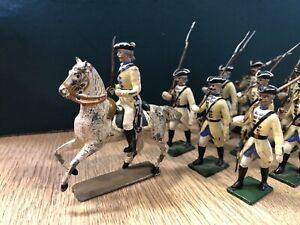 Mignot Gerbaud: Rare French Ancien Regime Infantry c1780s. Pre War c1905