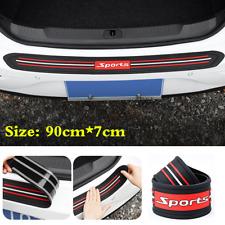 Universal 1Pcs Car Rear Bumper Trunk Guard Rubber Anti-Scratch Strip Accessories