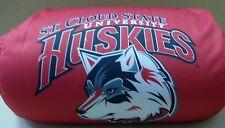 St. Cloud State Huskies Micro Bead Bolster Pillow Free Ship Set - 6 Pillows