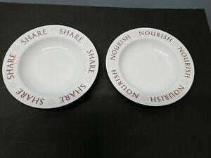 Hearts Round Dinnerware Plates For Sale Ebay
