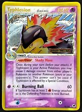Typhlosion (EX Dragon Frontiers) 12/101 PL/EX Stamped Reverse Holo Rare TCG!!!!!