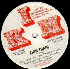 David Jahson – People Bawling / Zion Train  (Original  press)