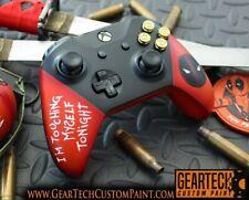 Custom Painted Xbox One Deadpool Controller