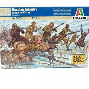 ITALERI 1/72 Scale Russian Infantry Winter Uniform World War II Model Kit 6069