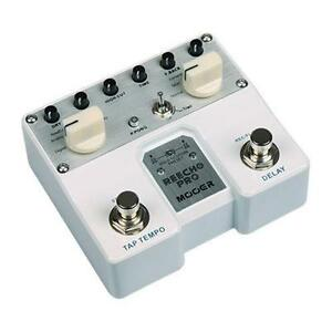 Mooer REECHO PRO Digital/Analog Delay Guitar Pedal Tap Stereo Ping Pong