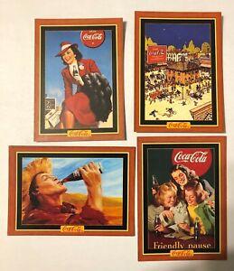 1993 COCA-COLA SERIES 1 PROMO CARD  SET 1-3 NS-140