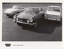 Fiat 850 Especial, Coupe & Spider período fotografía.