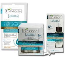 BIELENDA SET/KIT MEZO Hydrating therapy Anti-Age Active Serum + Cream + Mask