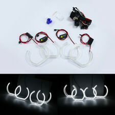 Cree LED Angel Eye White Crystal DTM Halo For BMW 3 Series E92 coupe M3 07-10