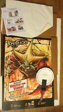 Kaijudo Promo Pop Out Poster 30X22in Unused in Original Shipper 2014 RARE Hasbro