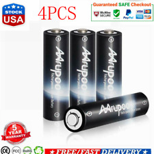 Rechargeable Batteries Set AA 1.5V 3200mAh USB Quick Charging With CableLithium