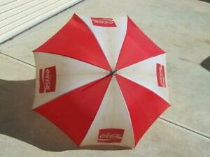 Vintage Coke Coca-cola umbrella 1020mm in diameter