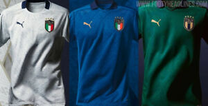 MEN'S ITALY 20 21 SOCCER INTERNATIONAL JERSEY NAME & NUMBER
