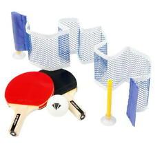 Family Table Tennis Complete Mini Set Bats Paddle Ping Pong Ball Net Kids fun