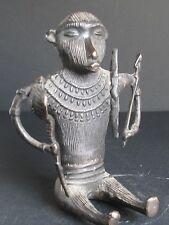 Curieuse Sculpture animalière en Bronze, ORISSA INDE
