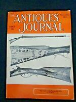 Antiques Journal 1965 John Haga Rupp Bonewitz Kentucky Rifle Stock Certificates