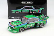 "Minichamps BMW 3.5 CSL #12 ""Gosser Bier"" Winner 6H Zeltweg 1976 1/18"