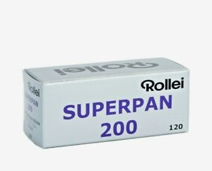 1 x Roll ROLLEI SUPERPAN 200 B&W NEG Film--120 MED. FORMAT--expiry: 03/2021