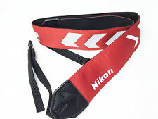 Nikon Japan Camera Neck Arrow Strap 2 RD Red