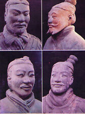 OLD POSTCARD - Museum of Qin Terra-cotta - An Effigy of the Qin Dynasty