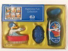 Vintage Grosvenor Donald Duck Bathtime Fun Collection Set