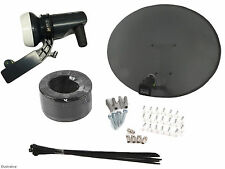 Zone 2 Sky Dish With Single LNB, Install Kit