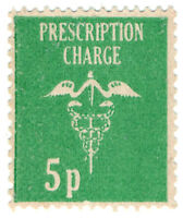 (I.B) Elizabeth II Revenue : Prescription Charge 5p