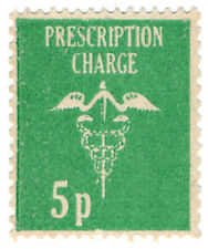 (I.B) Elizabeth II Revenue : Prescription Charge 5p
