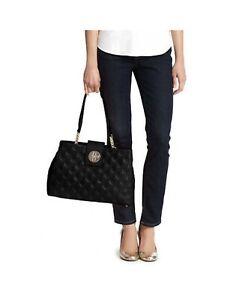 NWT Kate Spade Astor Court Elena Quilted Black Leather Shoulder Bag