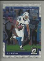 T.Y. Hilton 2017 Donruss Optic Card # 96 Indianapolis Colts Football WR NFL