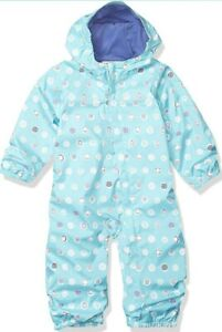 Columbia Girls Toddler 3T Critter Jitters Rain Suit NEW $65