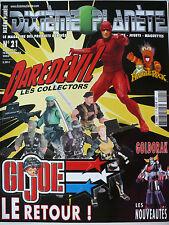 """Magazine (très bel état) - Dixième planète 21 (spécial """"Daredevil"""")"""