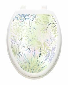 Toilet Tattoos® Herb Garden  Lid Cover  Decor  Reusable Vinyl 1153