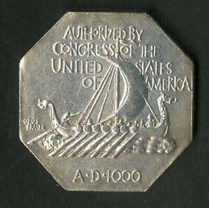 US Coin 1925 Silver Norse American Medal NO RESERVE!
