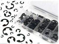 300PCS E-Clip Snap Circlip Kit External Retaining Ring Assortment Set With Case