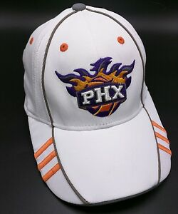 PHOENIX SUNS white stretch-fit fitted cap / hat - One Size Fits All - NBA
