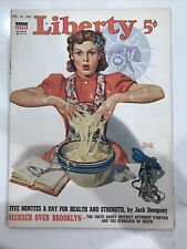 Liberty Magazine Christmas Ads WWII Draft Exercise December 14 1940