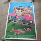 Внешний вид - VINTAGE 90s Mannequin 2 Video Movie Poster Kristy Swanson William Ragsdale 1991