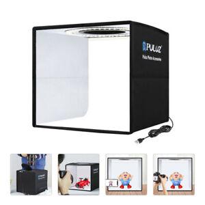 Fotobox Fotostudio Lichtzelt LED Mini Leuchte Tischplatte Fotografie 25*25*25cm