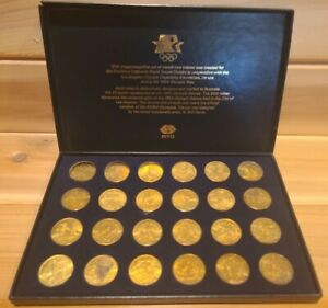 Games of the XXIIIrd Olympiad Los Angeles 1984 Transit Token 24 Coin Set