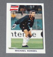 16 MICHAEL KONSEL ÖSTERREICH AS ROMA ROME PANINI SUPER FOOTBALL 99 1998-1999