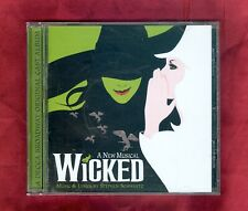 Wicked: A New Musical - Original Broadway Cast Recording 2003 CD 19 Tracks VG