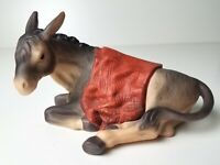 Laying Donkey w/ Blanket Kirkland Christmas Nativity Replacement Figurine