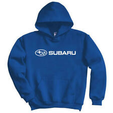 Subaru Logo BLUE BASIC Pullover Official Sti Ascnet Forester Outback Hoodie
