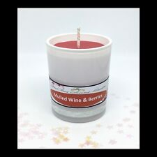 Mulled Wine & Berries Scented Soy Votive Candle - GeriBeri Scented Candles