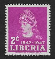 Liberia 1947 The 100th Anniversary of Independence 2c (DX4)
