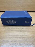 QUAD Book of Mormon Triple Holy Bible Dark Blue  Bonded Leather LDS