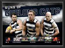 Geelong Cats 2018 Sons of the AFL Official License Limited Edition Print Framed